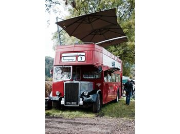 Leyland PD3 British Double Decker Bus Open Top Deck Pub Bar Hospitality - xe bus hai tầng